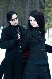 goth couple 1