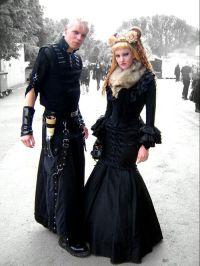 goth couple 30