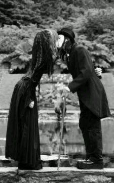goth couple 34