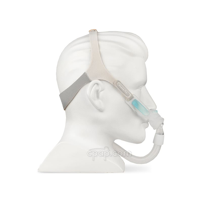 nuance-pro-gel-frame-side-on-mannequin-cpapdotcom
