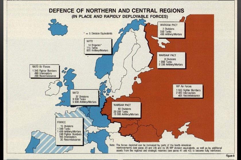 Defence of northern and central regions